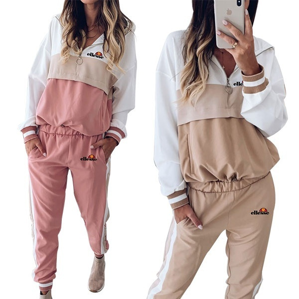hoodedsuit, tracksuit for women, Two-Piece Suits, Sleeve