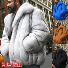 fur coat, men coat, Plus Size, fur