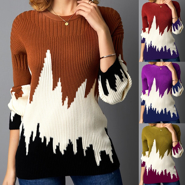 Plus Size, knit, Necks, Sleeve