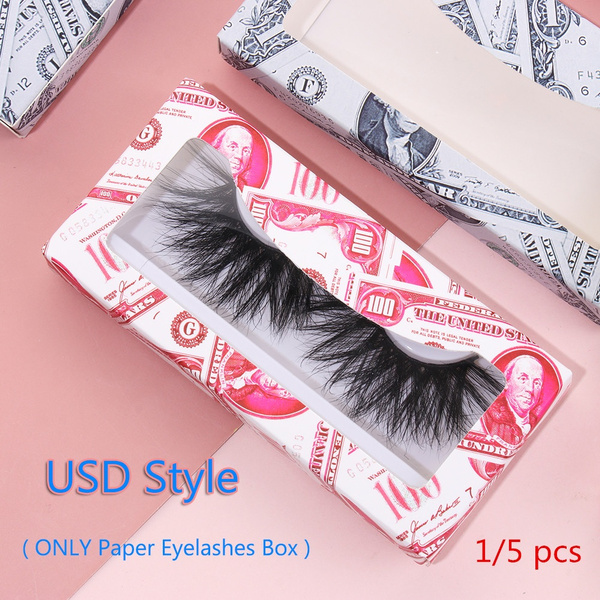 False Eyelashes, Box, Makeup, emptyeyelashesboxe