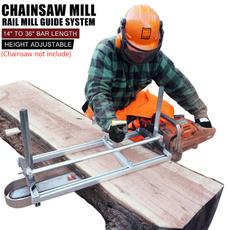 Steel, millframe, chainsawmill, Aluminum