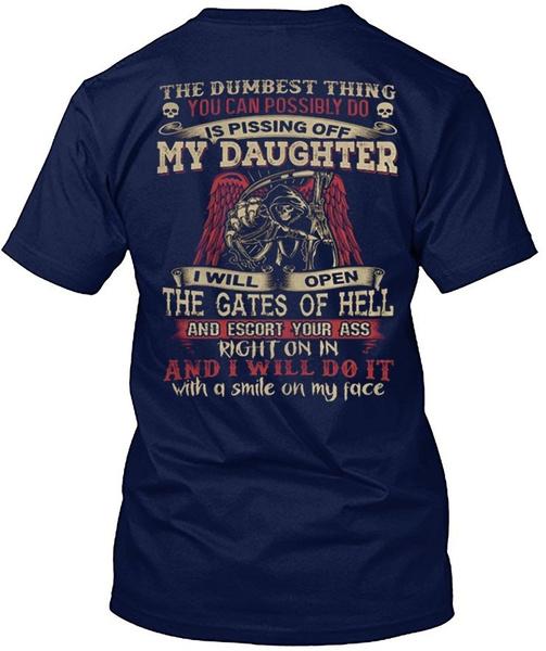 workoutclothe, death, daughter, Shirt