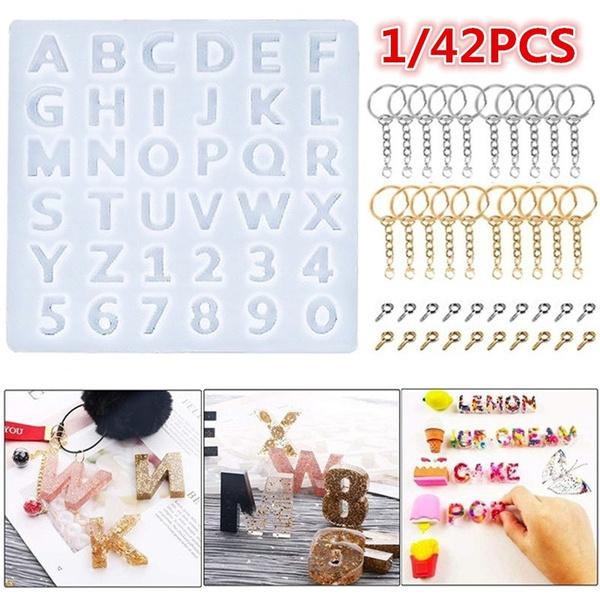 alphabetmold, jewelrymakingtool, Key Chain, Jewelry
