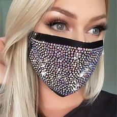 party, dustproofmask, halffacemask, solidcolormask