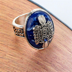 crystal ring, Family, crownring, Silver Ring