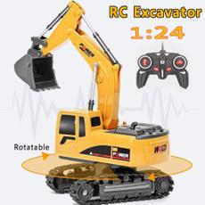 Toy, boybirthdaygift, Electric, excavator