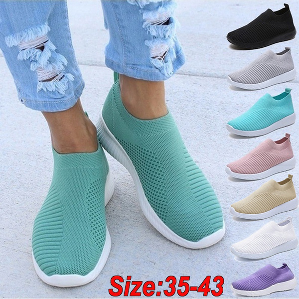 knitshoe, Sneakers, Plus Size, shoes for womens
