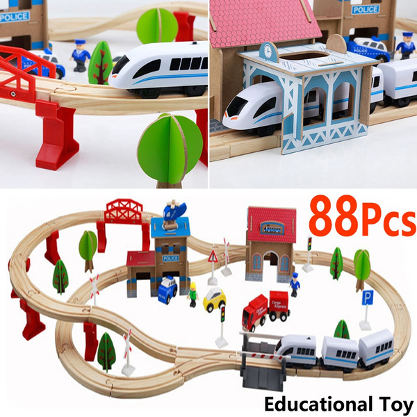 Toy, Electric, Wooden, toycarracetrack
