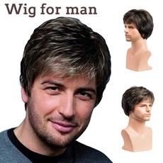 wig, manwig, Shorts, Cosplay