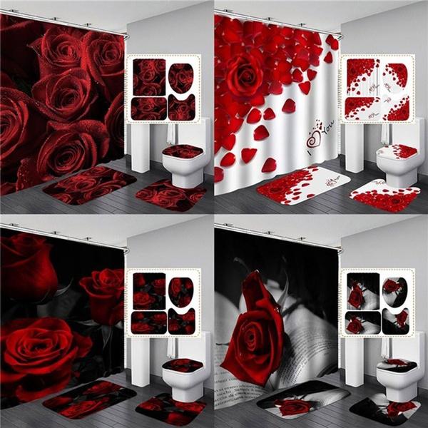womenshowerrug, valentinedaygift, valentinedaydecor, Waterproof