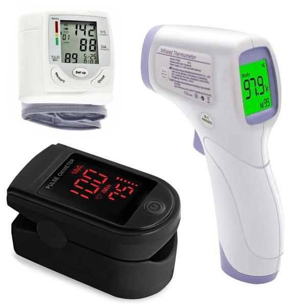 Home & Office, Temperature, bloodoximetertester, foreheadgun
