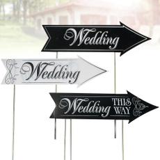 leadingthewaysign, weddingpartyarrow, weddingpartysign, party