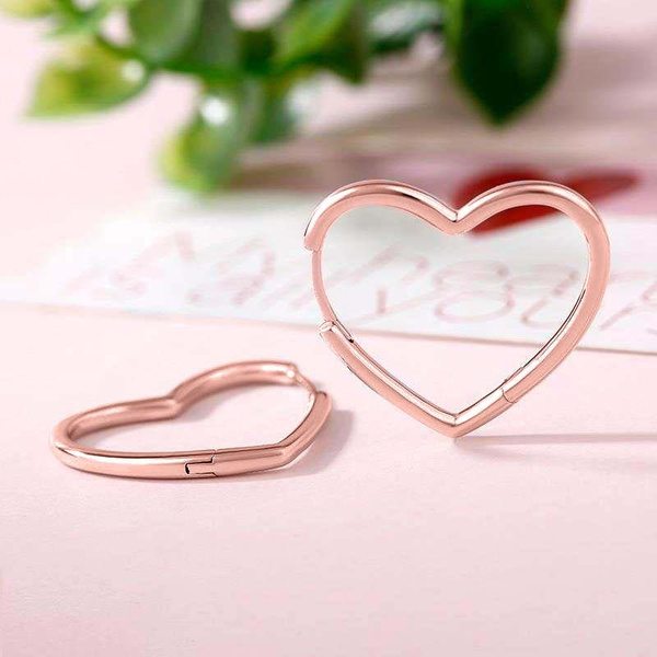 platinum, Hoop Earring, Love, Jewelry
