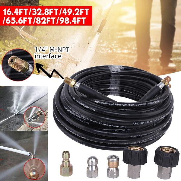 m22connector, flusher, nozzle, carwashingmachineoutlethose