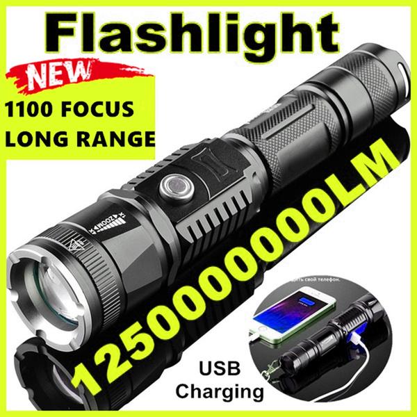 Flashlight, led, usb, Waterproof
