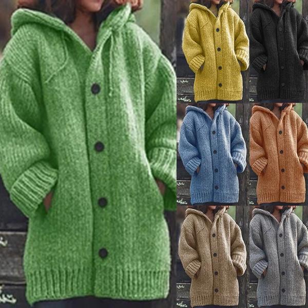 Jacket, warmthickcoat, Fashion, womencardigancoat