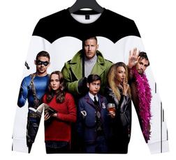 Crewneck Sweatshirt, Fashion, Umbrella, unisexsweatshirt
