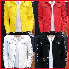 Fashion, outdoorstreet, denim jacket, autumnjacket