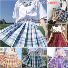 Mini, Fashion, japaneseuniform, Pleated
