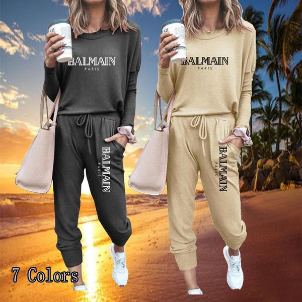 setsforwomen, Fashion, fitnessclothe, loosesuitforwomen