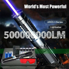 Flashlight, Star, bluelaserlight, laserpointerpen