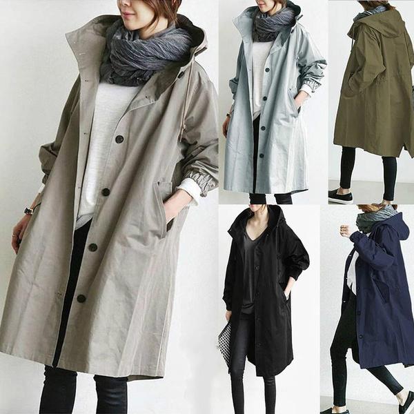 Casual Jackets, Fashion, windbreakerwomen, Waist