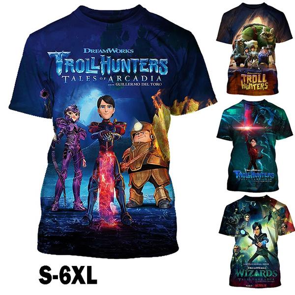 Summer, Fashion, trollhunter, Shirt