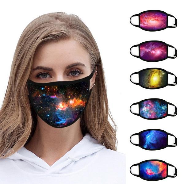 cottonfacemask, starrysky, funnyfacemask, Masks