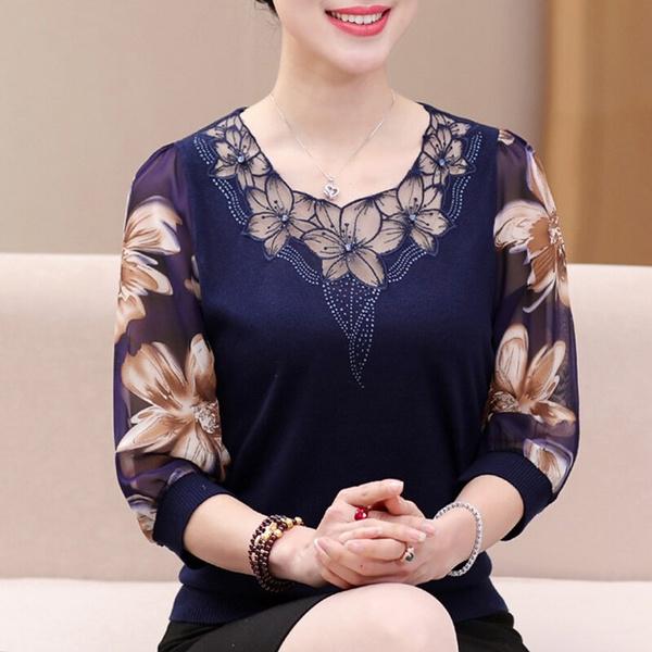 blouse, blouse women, Tops & Blouses, Shirt