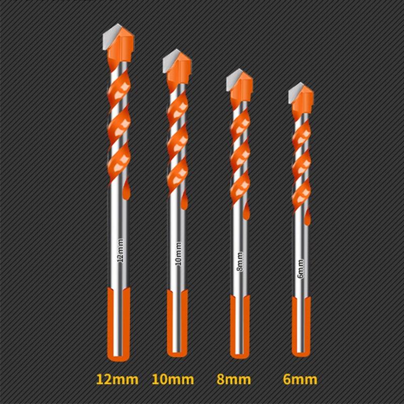 4//5pcs Electric Tools Diamond Drill Hammer Concrete Ceramic Tile Metal Drill Bit