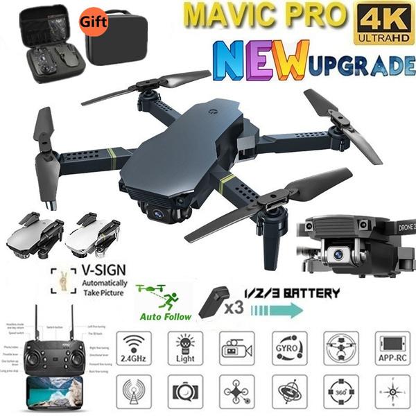 Quadcopter, Batteries, Bags, Camera