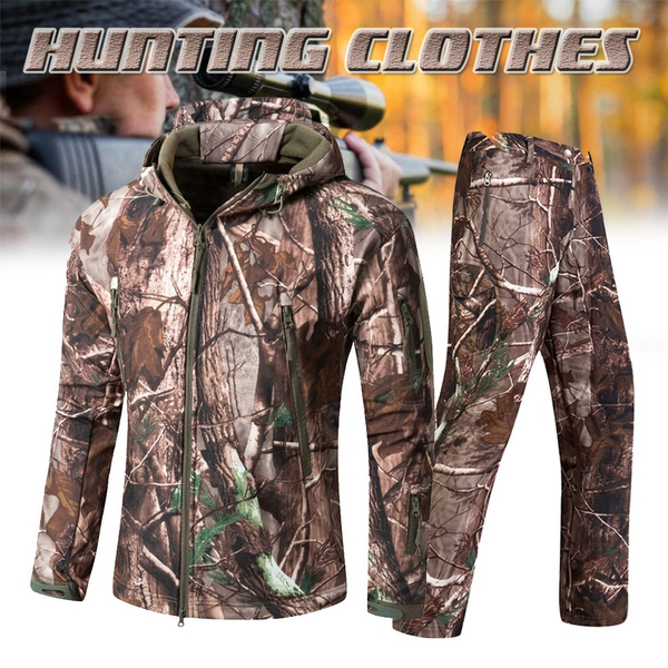 Clothes, hooded, Outdoor, Hunting