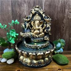 water, sandstoneelephantbuddha, led, Home Decor