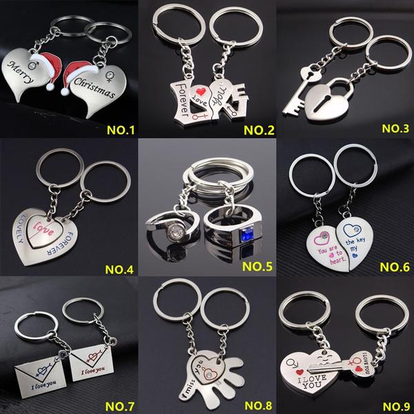 Heart, Key Chain, lover gifts, Key Rings