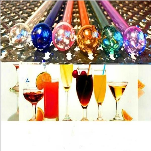 drinkingstraw, Colorful, Glass, bartool