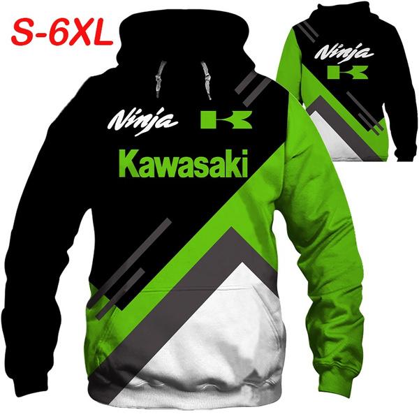 motorcyclecoat, kawasakimotorcycle, 3d sweatshirt men, Fashion