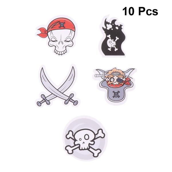 partycaketopper, skull, Funny, piratescakepick