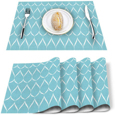 tablemat, Fashion, Green, placemat