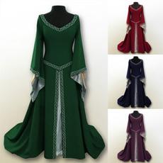 woman dress, long dress, Dress, Modern
