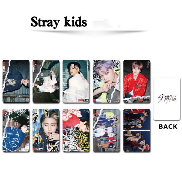 K-Pop, straykid, photocard, newalbummattephotograph