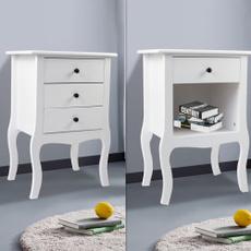 sidetable, Home & Living, bedsidestorage, Storage