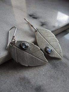 bohemia, leaf, Jewelry, vintage earrings