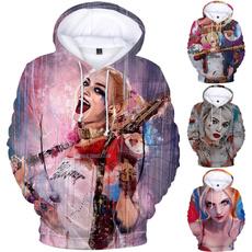 3D hoodies, Fashion, suicidesquadtop, Winter