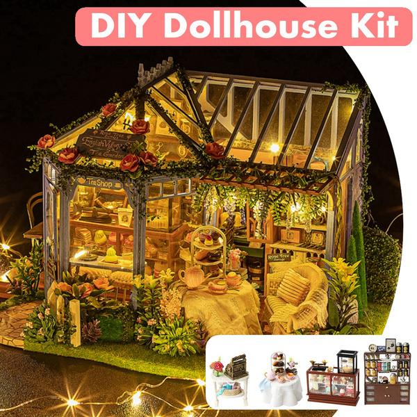 handmadewoodendollhouse, Toy, Garden, diydollhouse