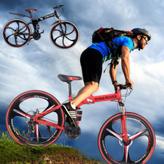 Steel, outroad, Bicycle, doubledisc