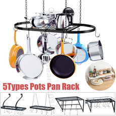 kitchenstoragerack, panhangingrack, Kitchen & Dining, potpanrackwallmounted