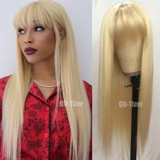 wig, blondewigcosplay, longstraighthair, Hair Extensions & Wigs