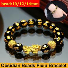 Charm Bracelet, Beaded Bracelets, Jewelry, golden