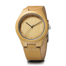 woodenwatch, Wood, Gifts, leather strap