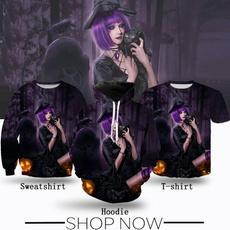 black, Fashion, Witch, Shirt